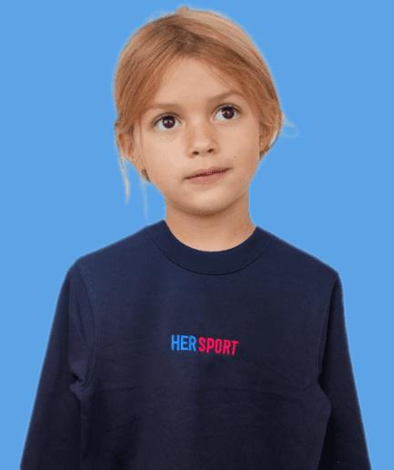 Her Sport Kids Sweater