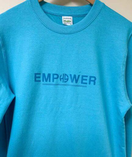 Blue-Empower-Sweater