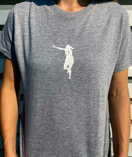 Her Sport Rugby Woman T-Shirt Grey